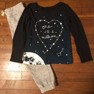 "Girls ""One in a Million"" Outfit"
